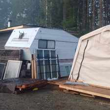 Rental info for 5th wheel and addition plus shed