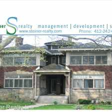 Rental info for 1454 Shady Avenue in the Point Breeze area