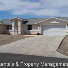 Rental info for 3065 Mirage Drive