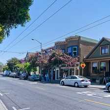 Rental info for 289 Anderson St in the Bernal Heights area