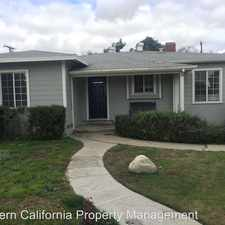 Rental info for 10321 Mildred St in the El Monte area