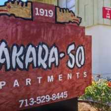 Rental info for Takara So in the Houston area