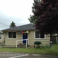Rental info for 7350 SE Evergreen St. in the Portland area