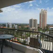 Rental info for 2 Bedroom Fully Furnished Hi-Rise Apartment - NE Aspect in the Broadbeach area
