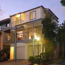 Rental info for Beautiful Townhouse In Emerald Springs in the Sunshine Coast area