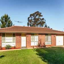 Rental info for Great Family Home in the Mount Annan area