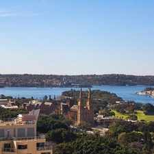 Rental info for Rare spectacular penthouse overlooking Hyde Park to Harbour!