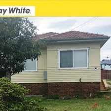 Rental info for 83 Illawarra Street - Available Now in the Wollongong area