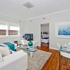 Rental info for Trendy Art Deco Apartment Walking Distance To Bondi Junction in the Bondi Junction area