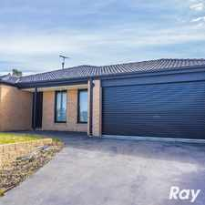 Rental info for UNDER APPLICATION WITH CASEY'S NUMBER 1 AGENT! in the Cranbourne East area