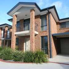 Rental info for APPROVED APPLICATION - A Cut Above The Rest - Three Bedroom Townhouse.