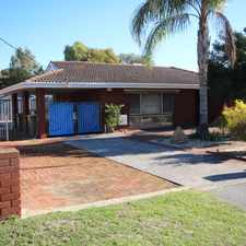 Rental info for LARGE FAMILY HOME - 4 x 2 WITH AMPLE PARKING....AVAILABLE 4TH OCTOBER 2017
