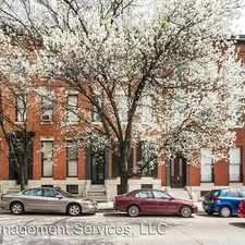 Rental info for 1015 St. Paul Street in the Baltimore area