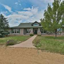 Rental info for Custom built, sprawling ranch style home for rent on 35 acres with amazing views.