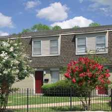 Rental info for South Pointe Townhomes in the Memphis area