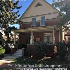 Rental info for 1840 Vine Street in the City Park West area