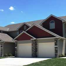 Rental info for Eagle Creek Townhomes in the Kansas City area