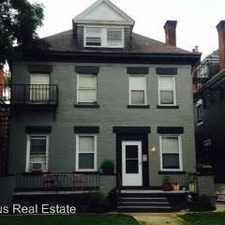 Rental info for 640 Maryland Avenue in the Pittsburgh area