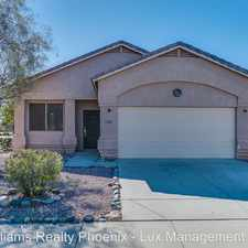 Rental info for 13801 West Canyon Creek Drive in the Surprise area
