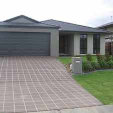 Rental info for Stunning Family Home in Lovely Estate in the Brisbane area