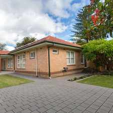 Rental info for LARGE 5 or 6 BEDROOM FAMILY HOME- CORNER OF MAHAR ST & MAGILL RD- SOLAR PANELS + DOUBLE GARAGE + DOUBLE CARPORT in the Adelaide area