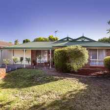 Rental info for 5 bedrooms, ensuite, BIR's, r/c a/c, gas heating, gas cooking, carport in the Adelaide area