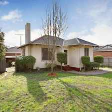 Rental info for WELL PRESENTED HOME IN A TOP LOCATION in the Melbourne area