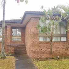 Rental info for AFFORDABLE FAMILY HOME in the Hamlyn Terrace area