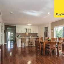 Rental info for STUNNING 4 BEDROOM FAMILY HOME in the Brisbane area