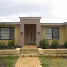 Rental info for GREAT LOCATION AND LOW MAINTENANCE in the Perth area