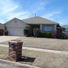 Rental info for 605 Hedgewood Dr in the 73160 area