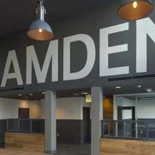 Rental info for The Camden
