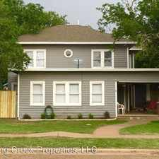 Rental info for 2112 15th Street in the Lubbock area