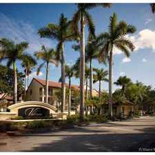 Rental info for 10050 Northwest 44th Terrace #105 in the Doral area