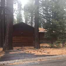 Rental info for 3859 Regina Rd in the South Lake Tahoe area