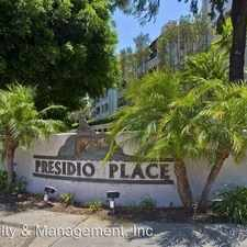 Rental info for 5605 Friars Road #274 in the Morena area