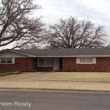 Rental info for 5443 8th Street (#35-M) in the Lubbock area