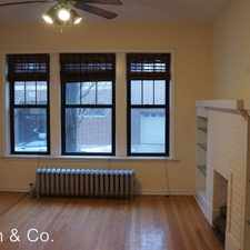 Rental info for 1951 W. Cuyler #1 in the Chicago area
