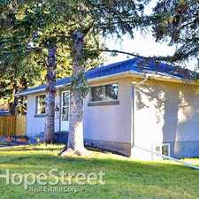 Rental info for 3304 42 Street SW - 3 Bedroom House for Rent in the Glenbrook area