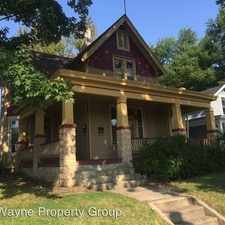 Rental info for 1705 N Wells - 2 2 in the Fort Wayne area