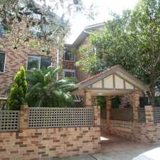 Rental info for DEPOSIT RECEIVED - LARGE TWO BEDROOM APARTMENT WITH DOUBLE SECURITY PARKING WALK TO THE BEACH AND CAFES!