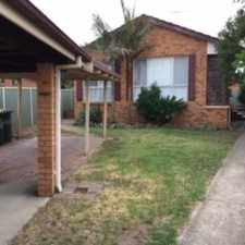 Rental info for Family Home in the Leumeah area