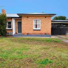 Rental info for 3 Bedroom lovely Semi in the Elizabeth Vale area