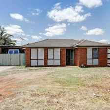 Rental info for Place to call home! in the Melton West area