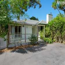 Rental info for A Spacious Family Favourite in the Melbourne area