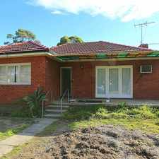 Rental info for Recently Renovated 3 bedroom home in the Condell Park area