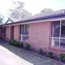 Rental info for SPACIOUS THREE BEDROOM UNIT in the Melbourne area