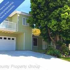 Rental info for 549 San Dieguito Drive