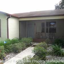 Rental info for 1406 San Meteo Ave in the The Villages area