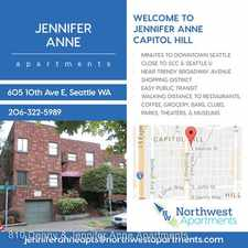 Rental info for 605 10th Ave. E. 7 in the Seattle area